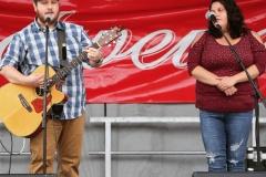 Ingham Station - Brad and Jessy at VC Turkey Festival